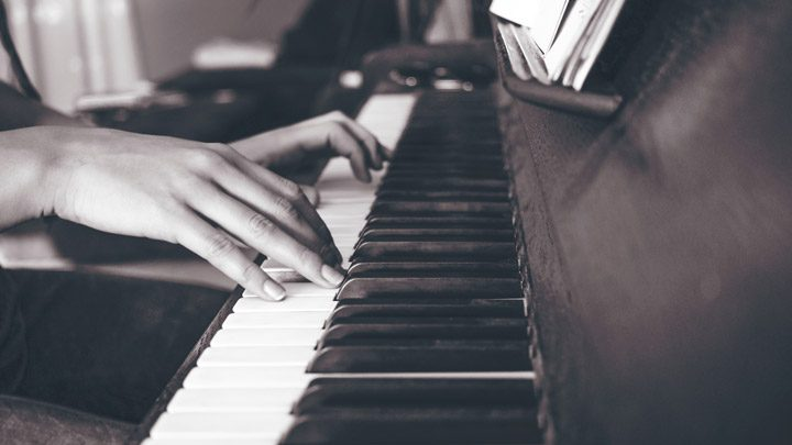 """playing a piano - imagery for """"Contrapuntal"""" by J.A. Pak"""