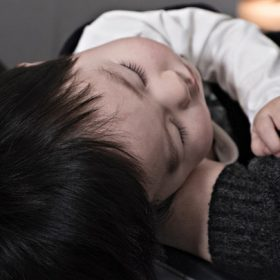 "sleeping baby - image for ""Middle of the Night"" by Robin Wright"