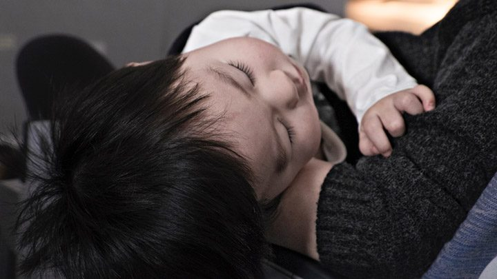 """sleeping baby - image for """"Middle of the Night"""" by Robin Wright"""