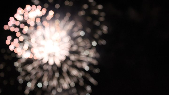 """fireworks, image for """"It's the Fourth of July"""" by Ken Craft"""