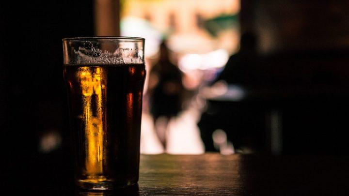 """beer glass, image for """"Instagram Poem #11"""" by Rebecca Gaffron"""