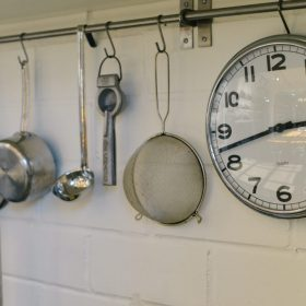 Kitchen Clock by Alice Teeter