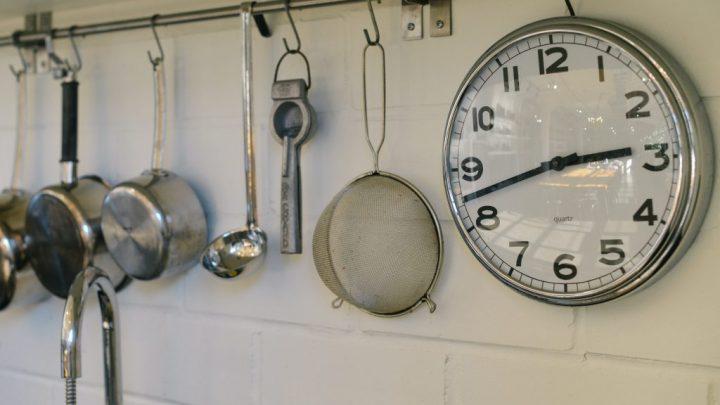 Kitchen Clock by Alice Teeter